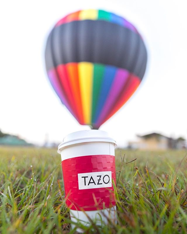 Break out of your comfort zone... Thanks @tazo for the invite to #BrewTheUnexpected #TazoPartner