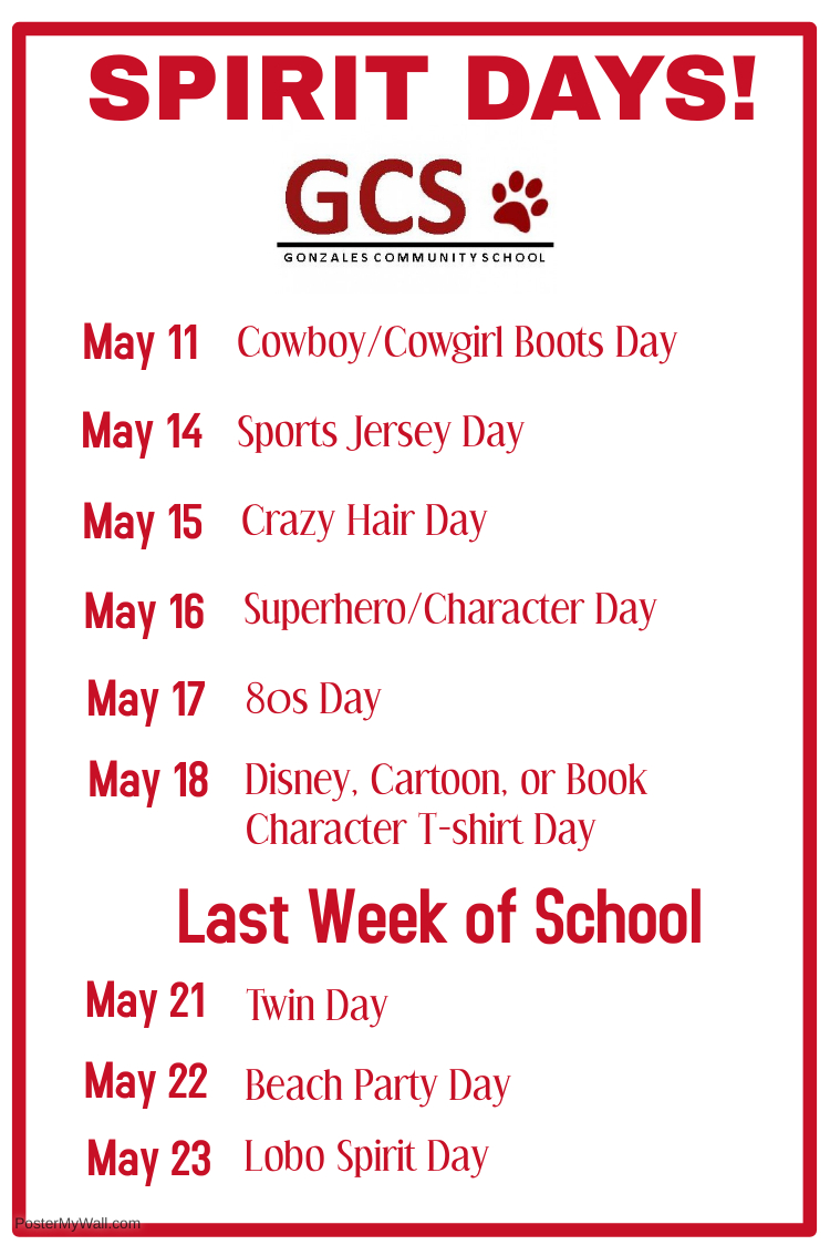 Spirit Days 2018 - Made with PosterMyWall.jpg