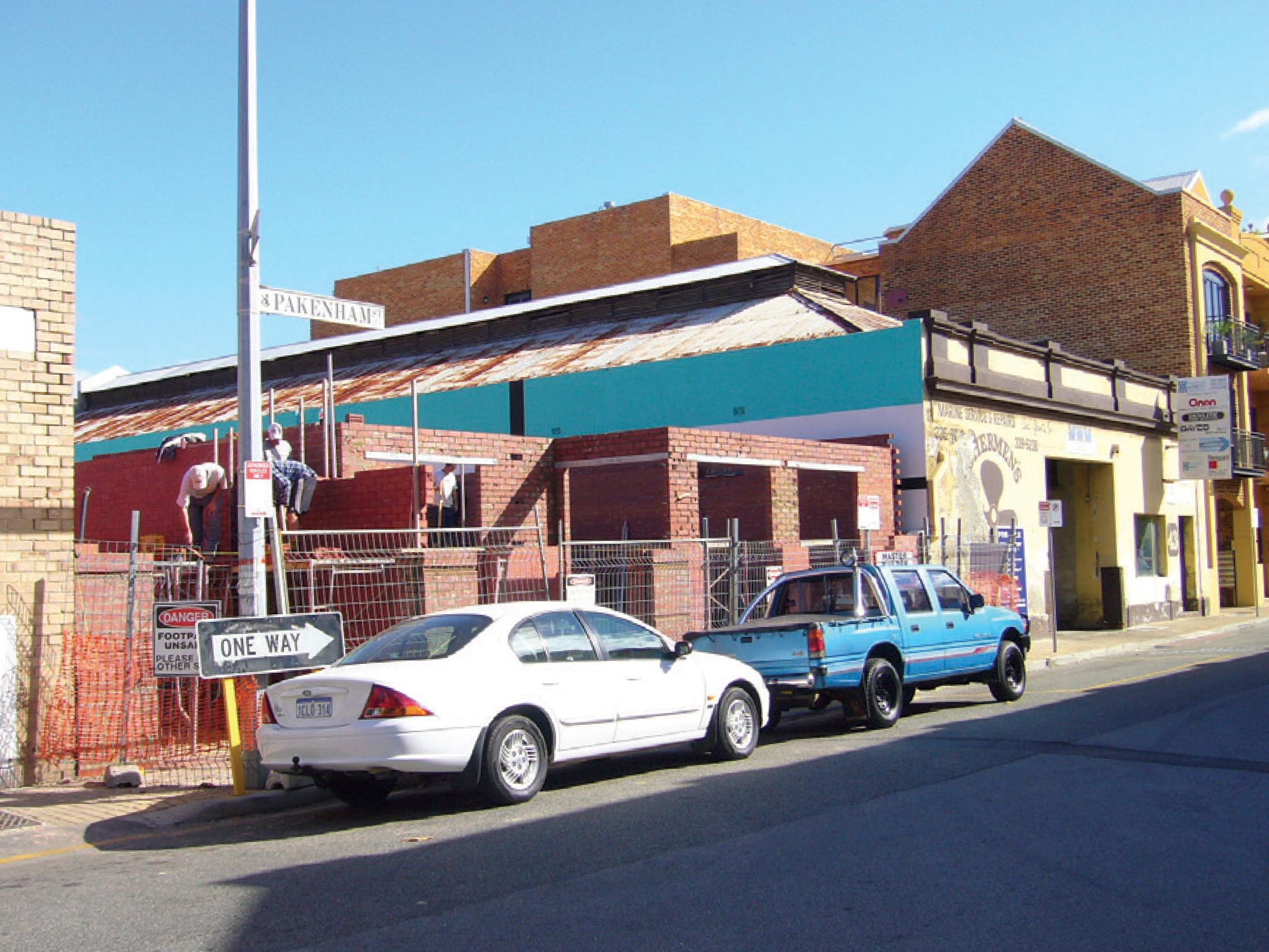 Daniel Göttin, Project 8, 2004–2008, Pakenham St Fremantle
