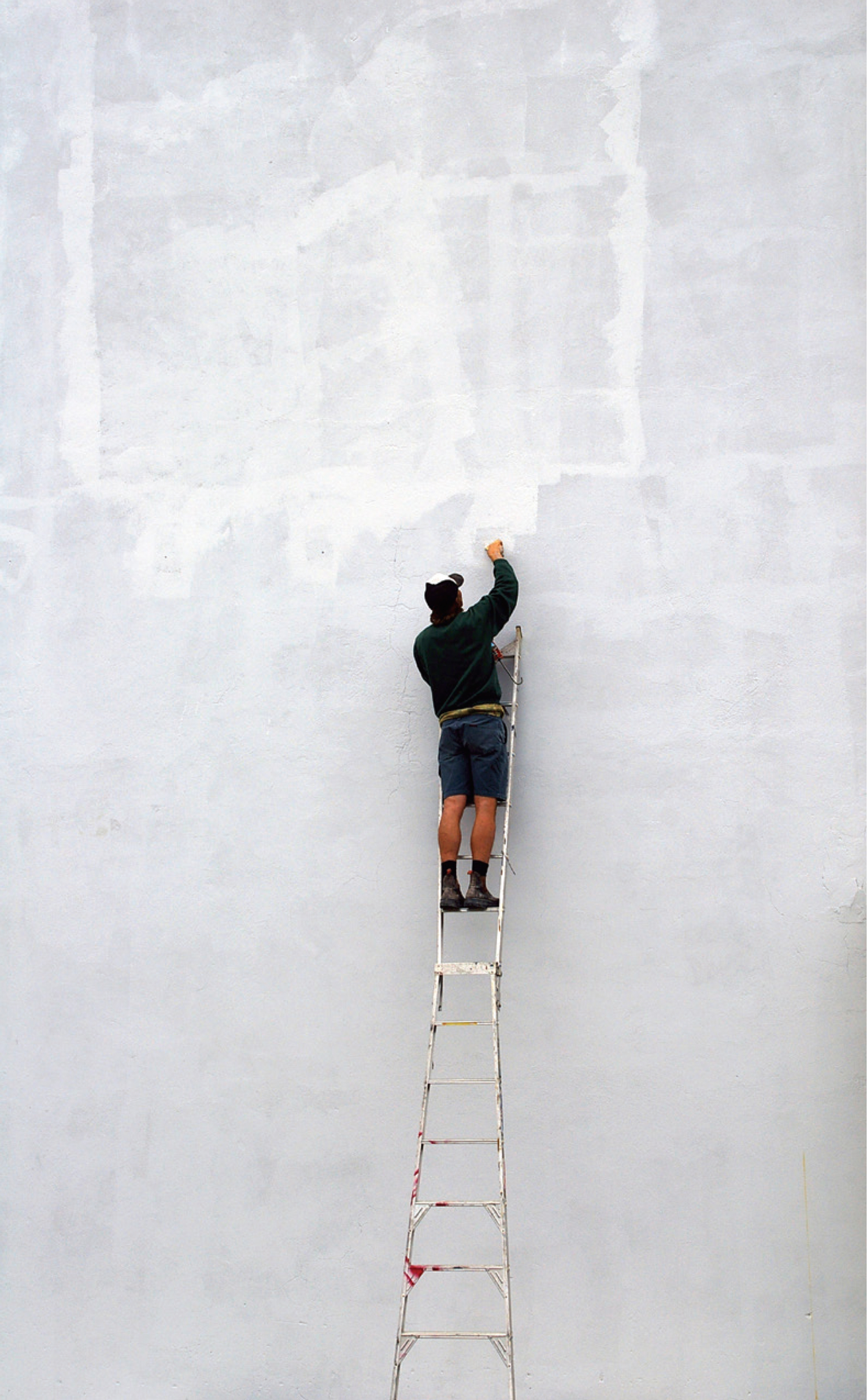 Joerg Hubmann working on John Nixon's, Project 13, 2009, Leake St Fremantle