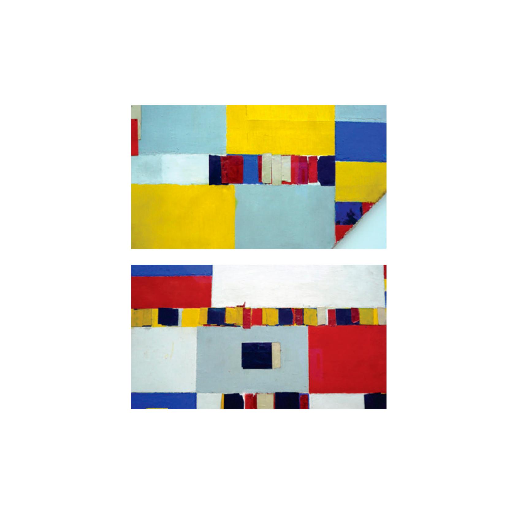 Piet Mondrian, Victory Boogie Woogie (details), 1943-44 Photo: Hubert Besacier