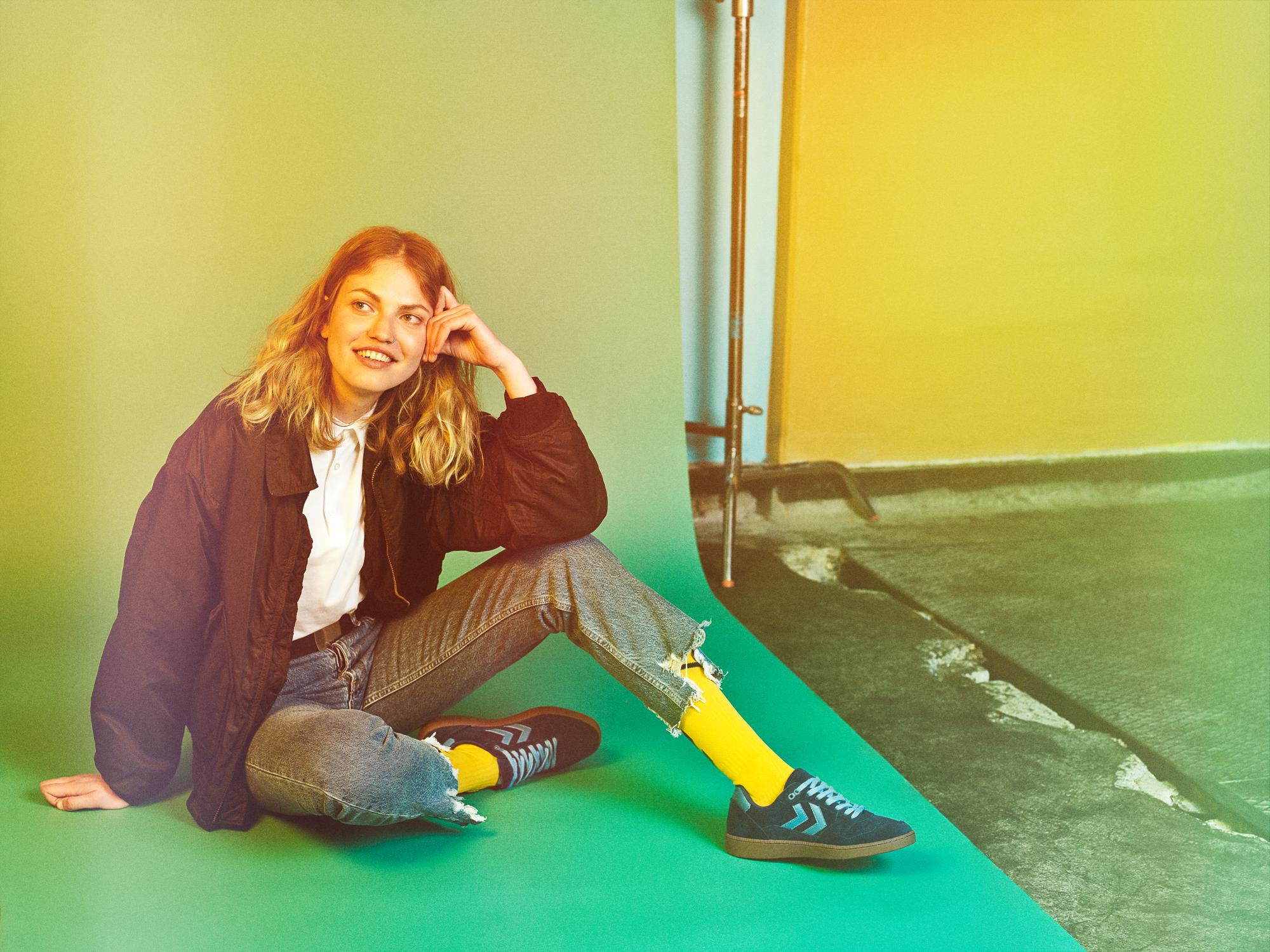 Hummel campaign by fashion photographer Kia Hartelius