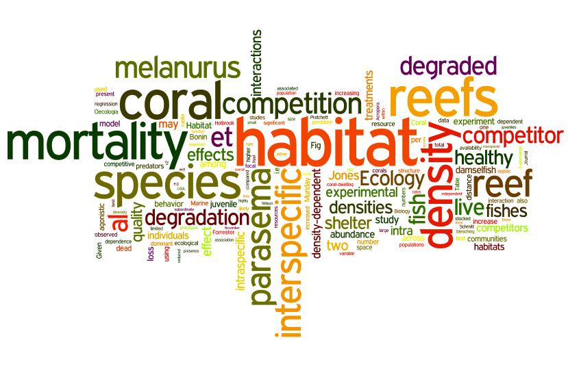Boström-Einarsson et al., 2014 Ecology