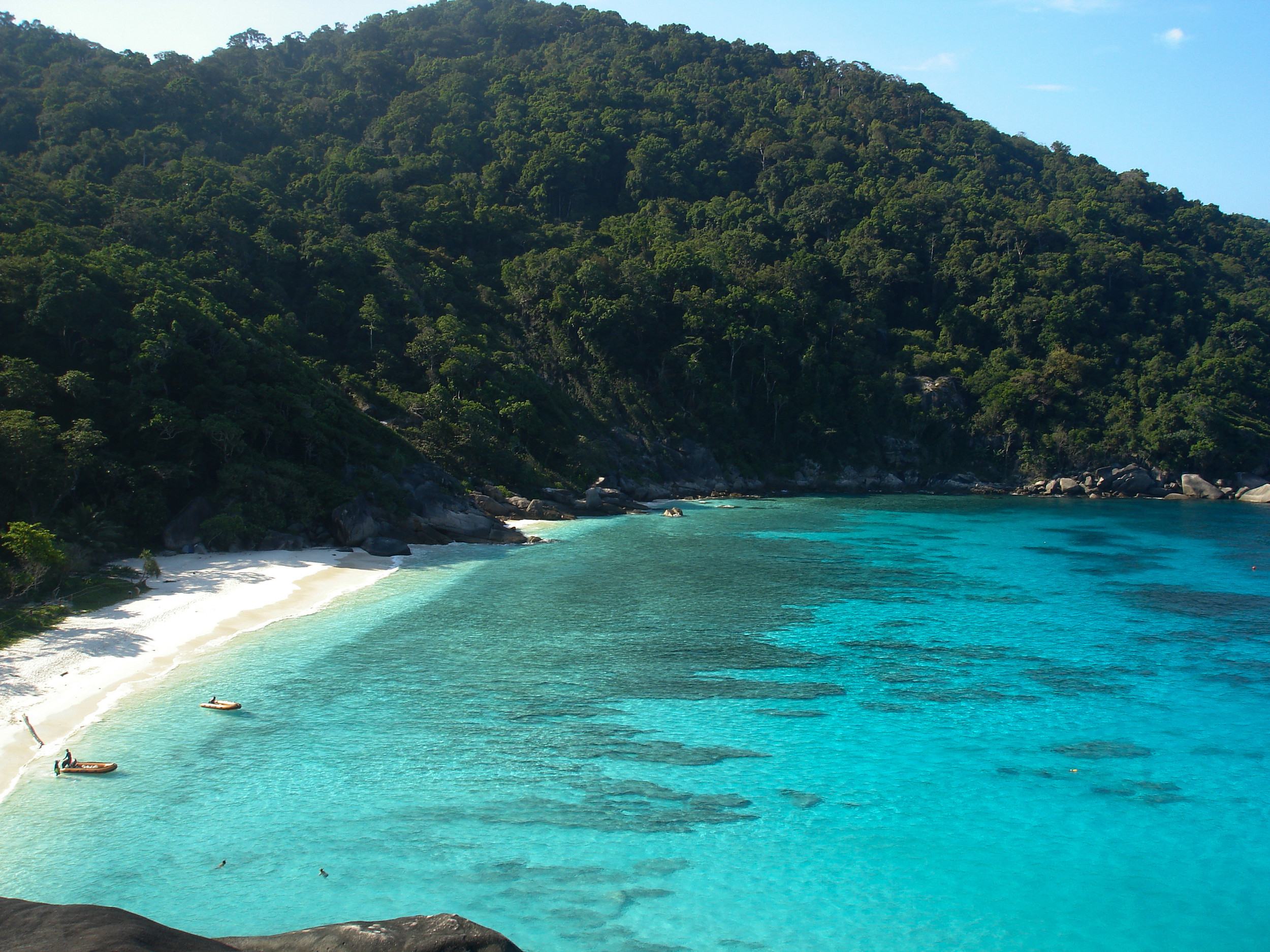 Donald duck Bay, Similan Islands, Thailand