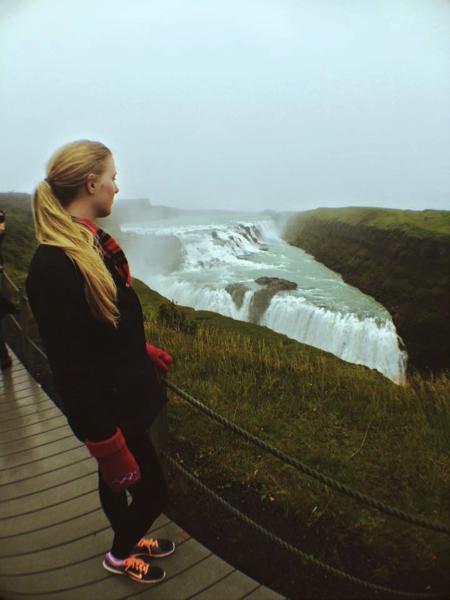 Gullfoss Waterfall, Gullfossi, Iceland