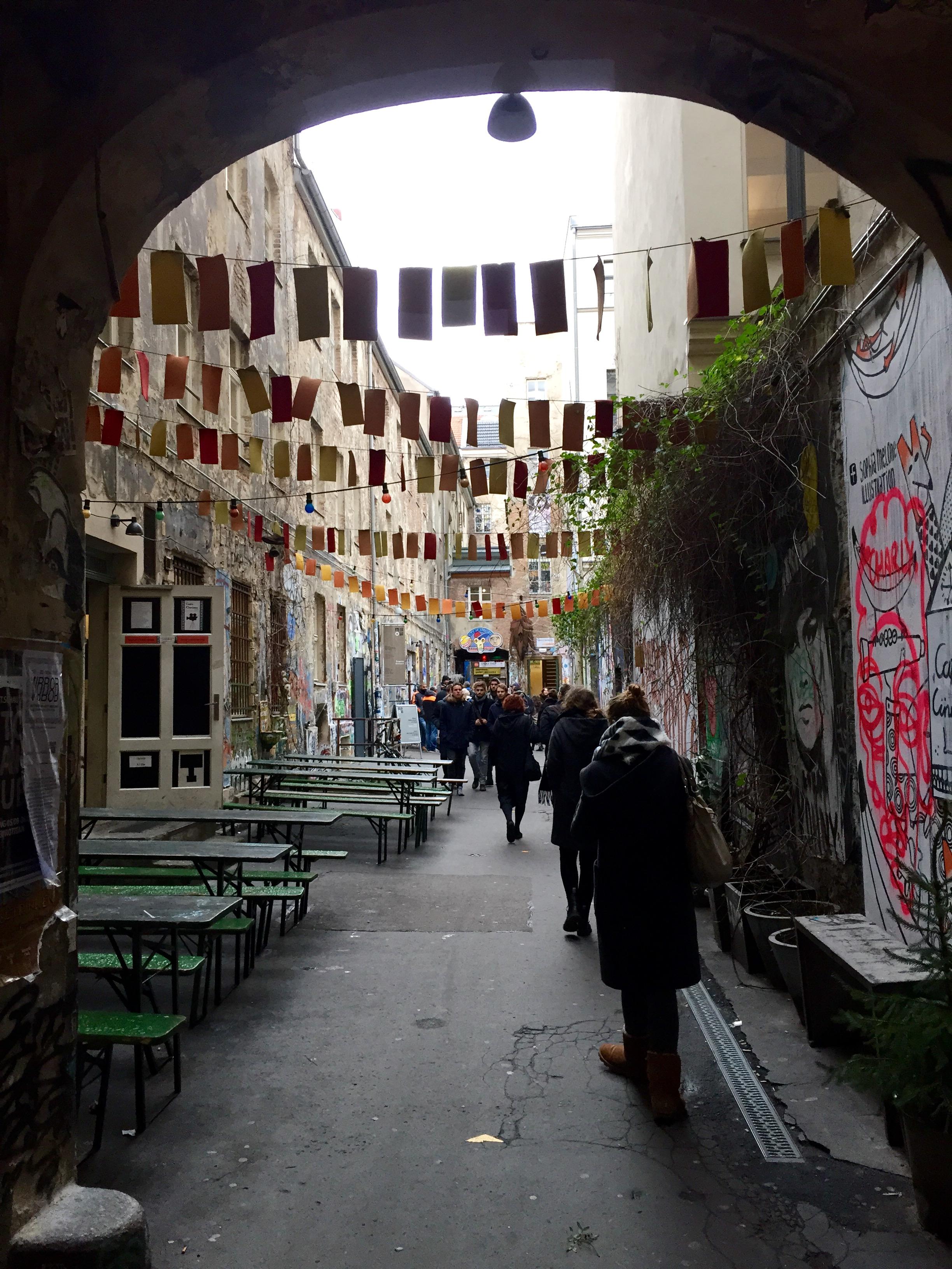 Street Art Courtyard, Berlin, Germany