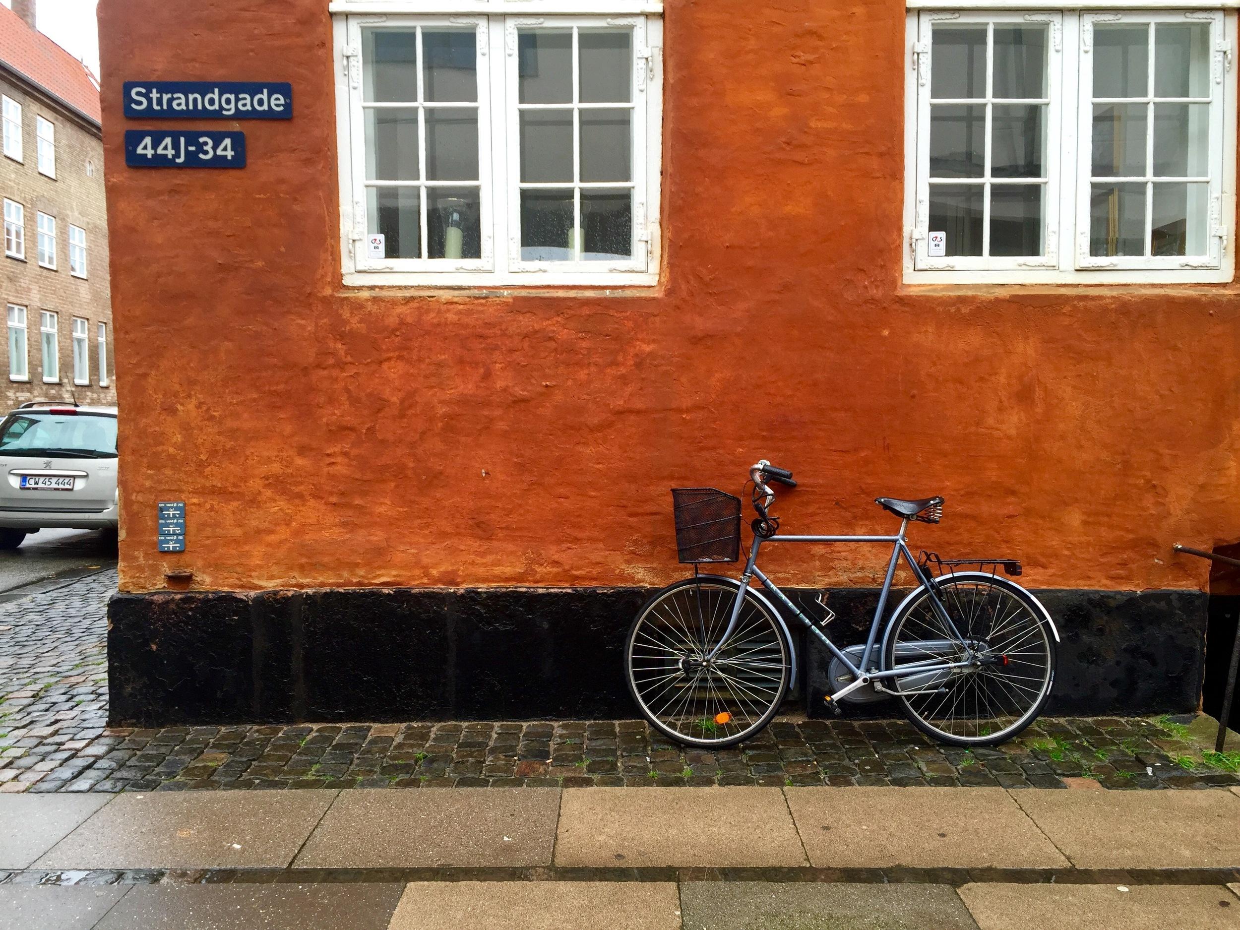 Bike near the Danish Architecture Centre, Copenhagen, Denmark