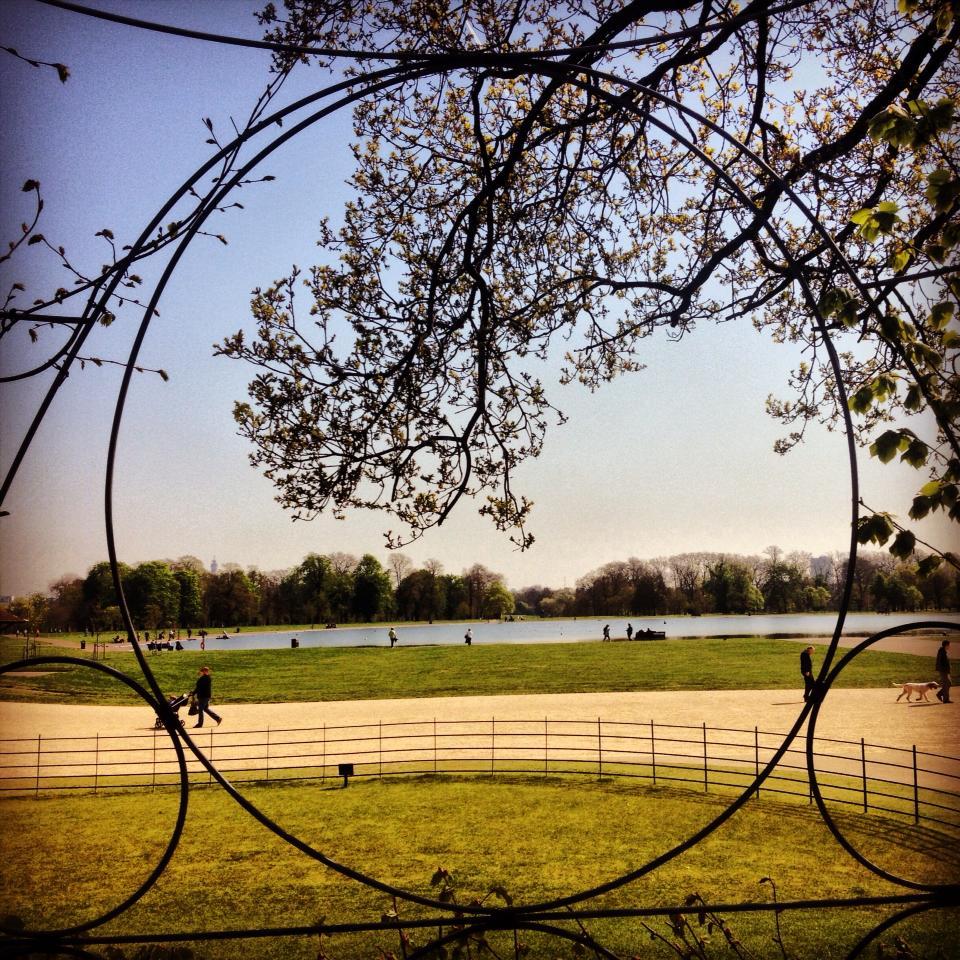 View from Kensington Palace, London, United Kingdom