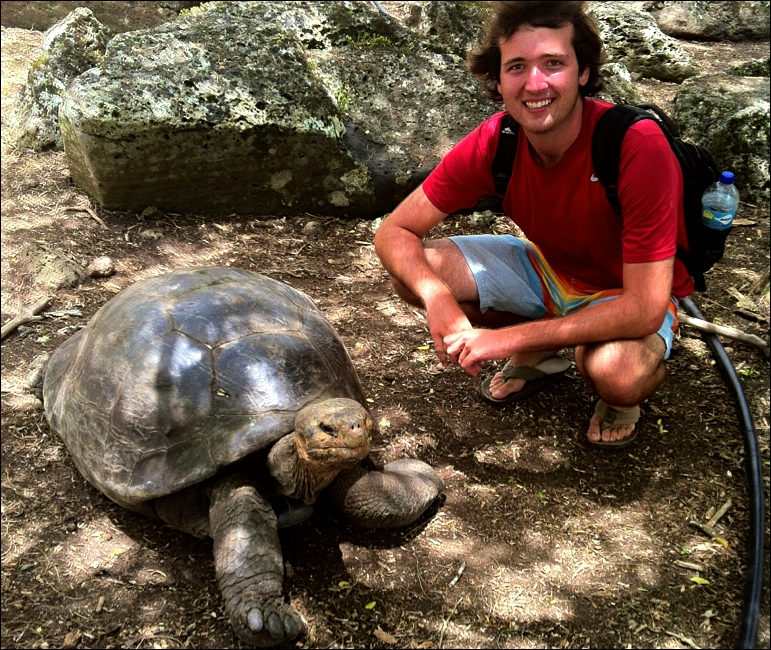 Giant tortoises are the namesake of these islands, and a must see if you make it there