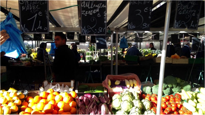 Marché Bastille, Paris, France   Photo Credit: Colleen O'Neil