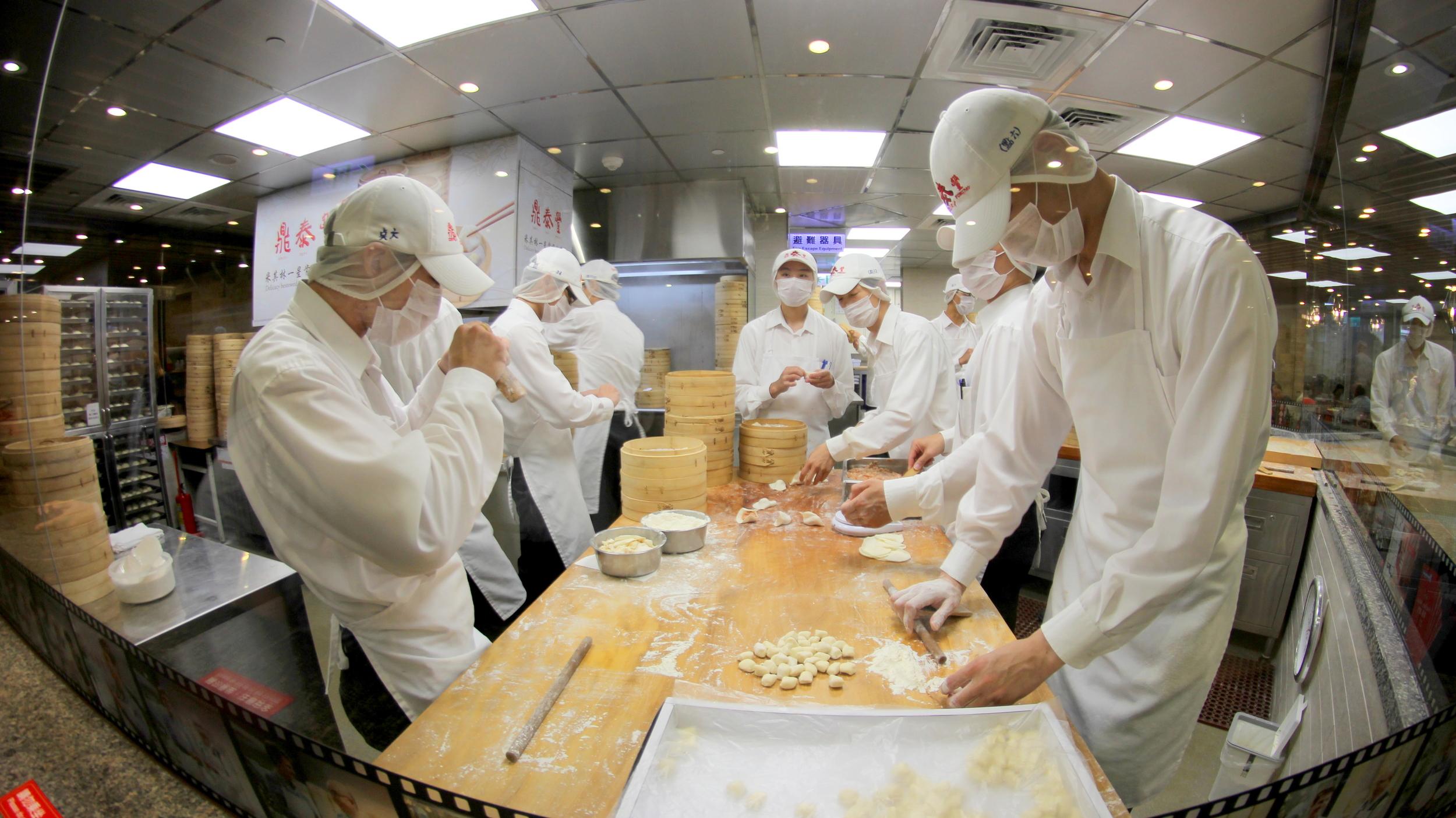 Soup Dumplings (Din Tai Fung)