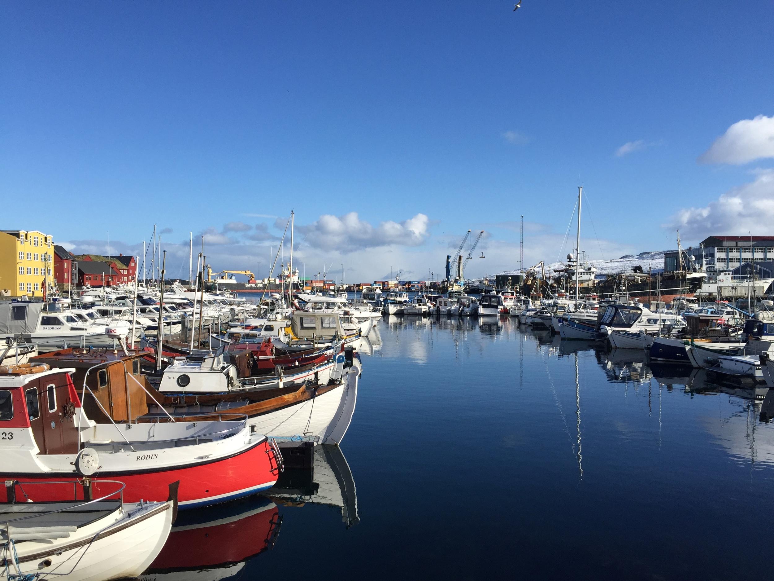 Tórshavn harbor