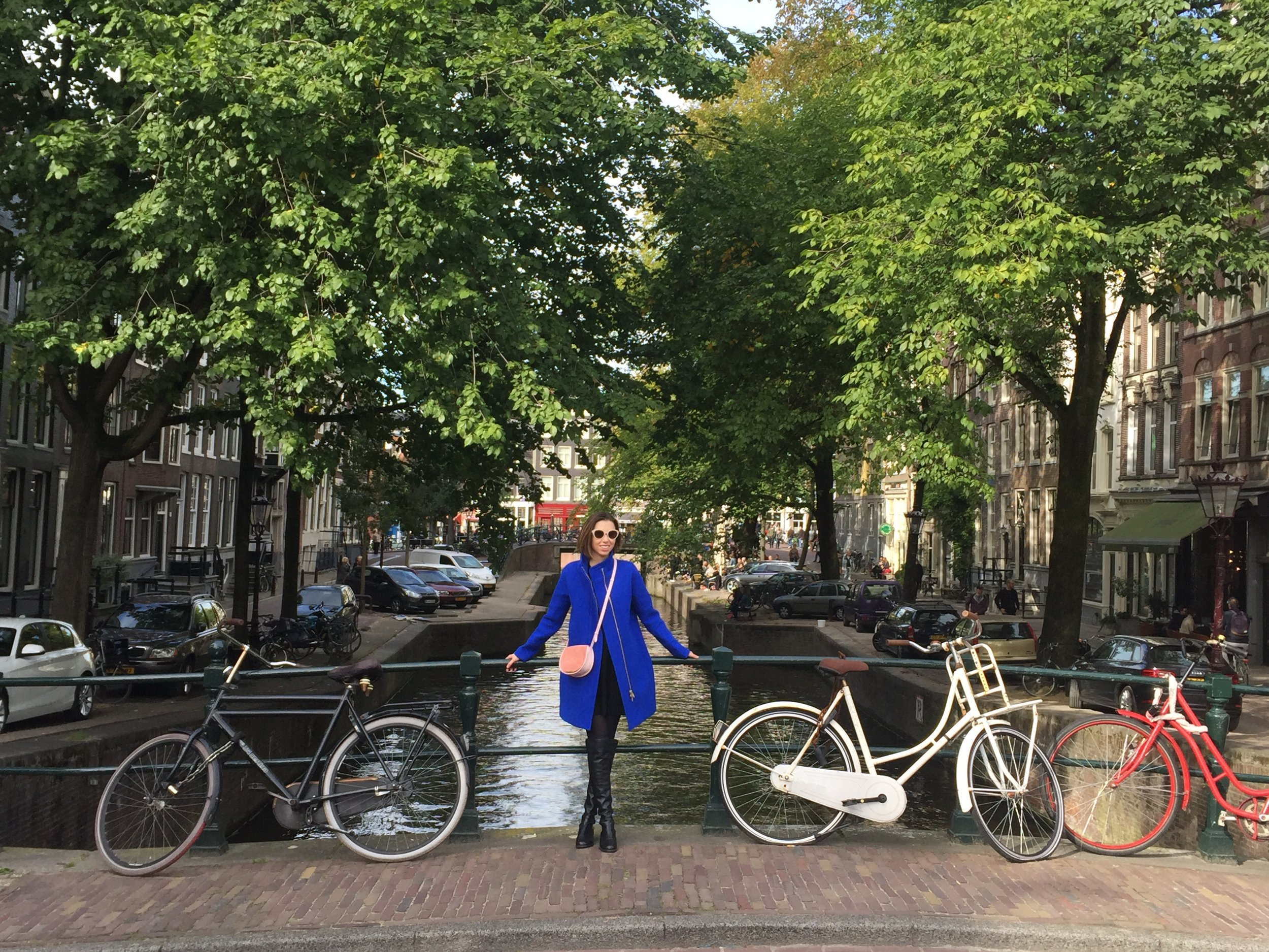 Jordaan district of Amsterdam in the Fall