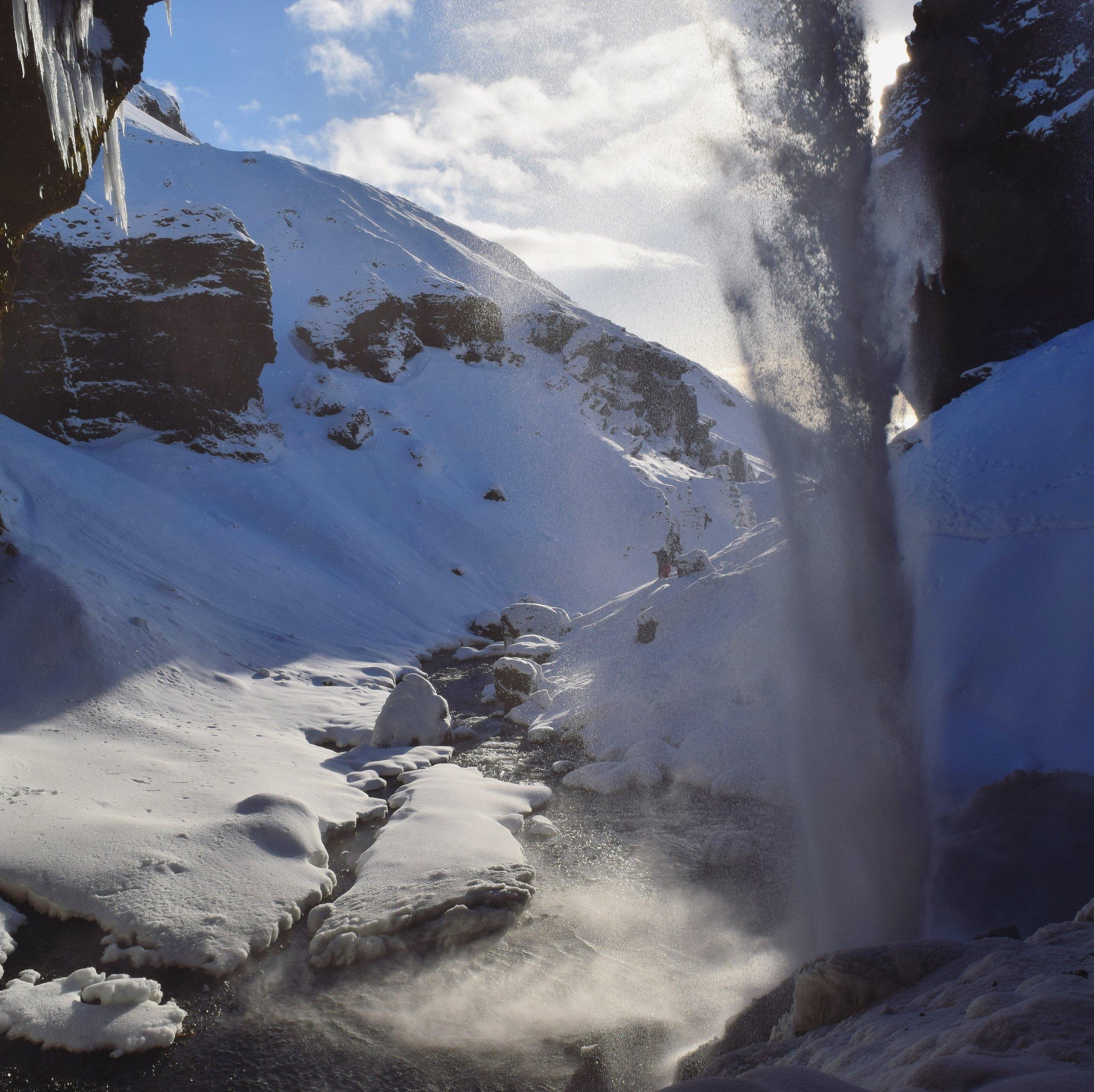 South Coast Waterfall