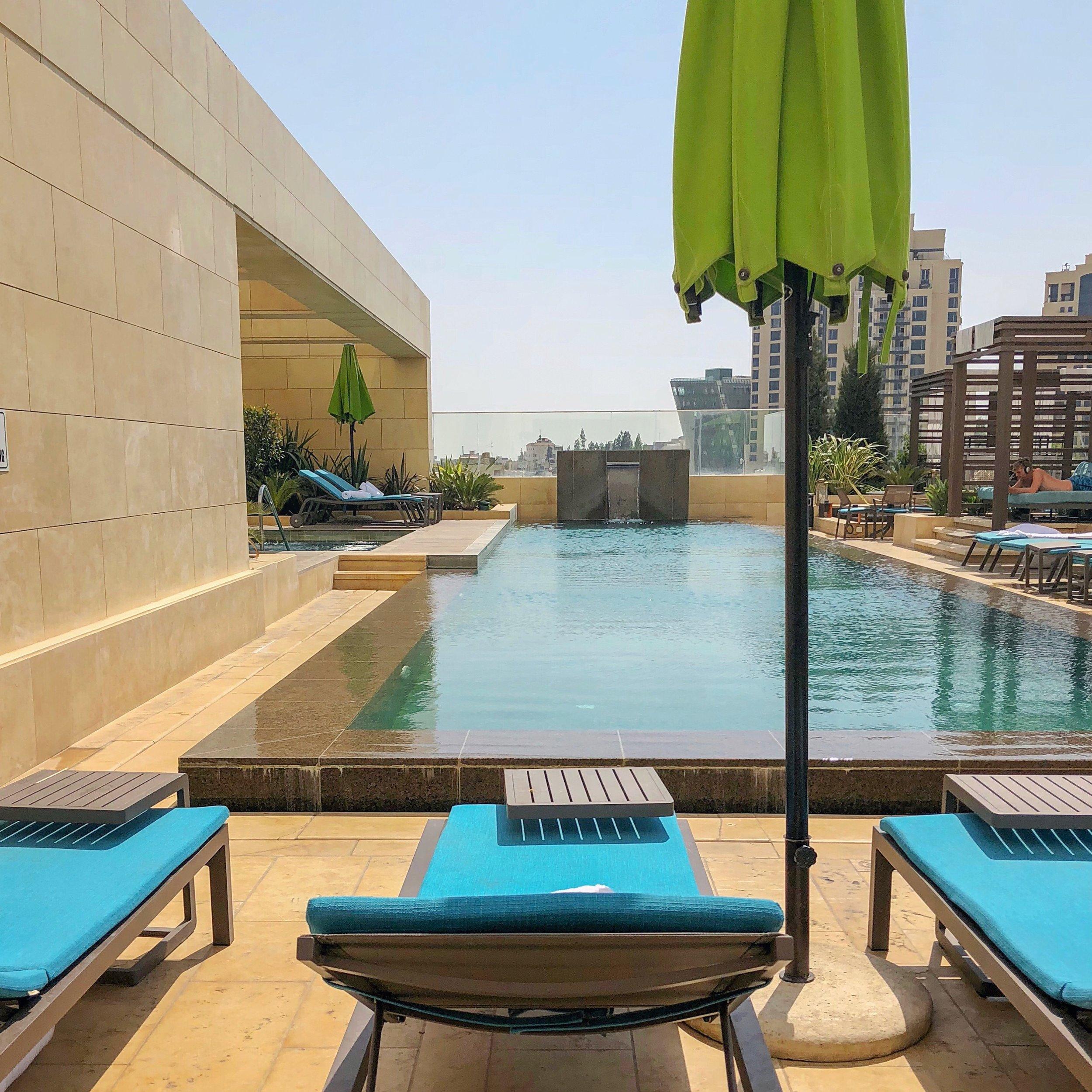 Pool at Fairmont Amman