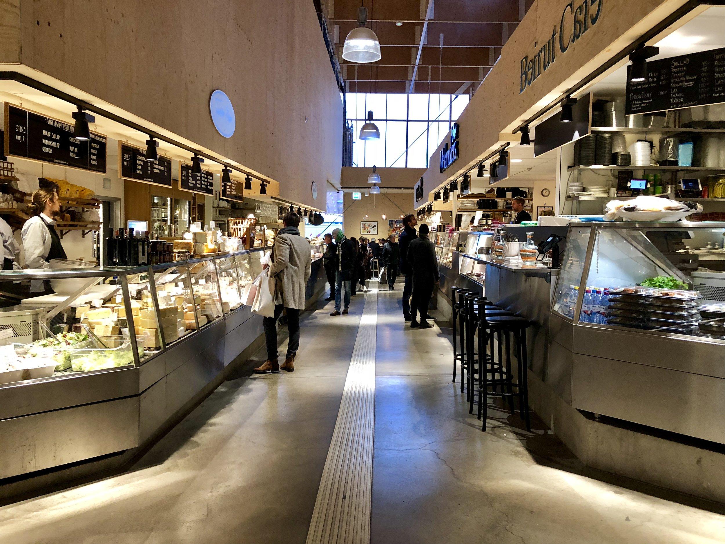 Östermalm's Market Hall