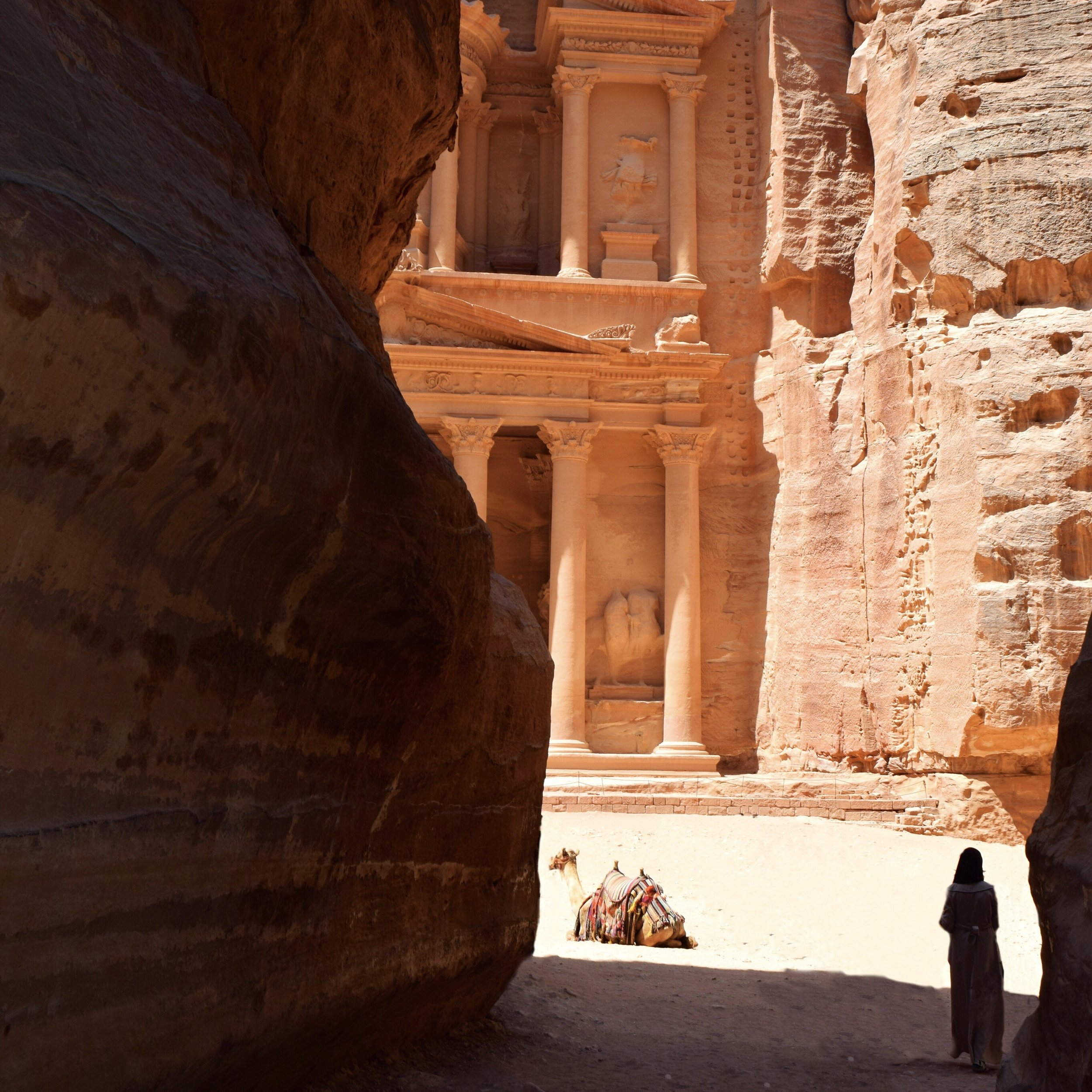 View of Treasury from the Siq
