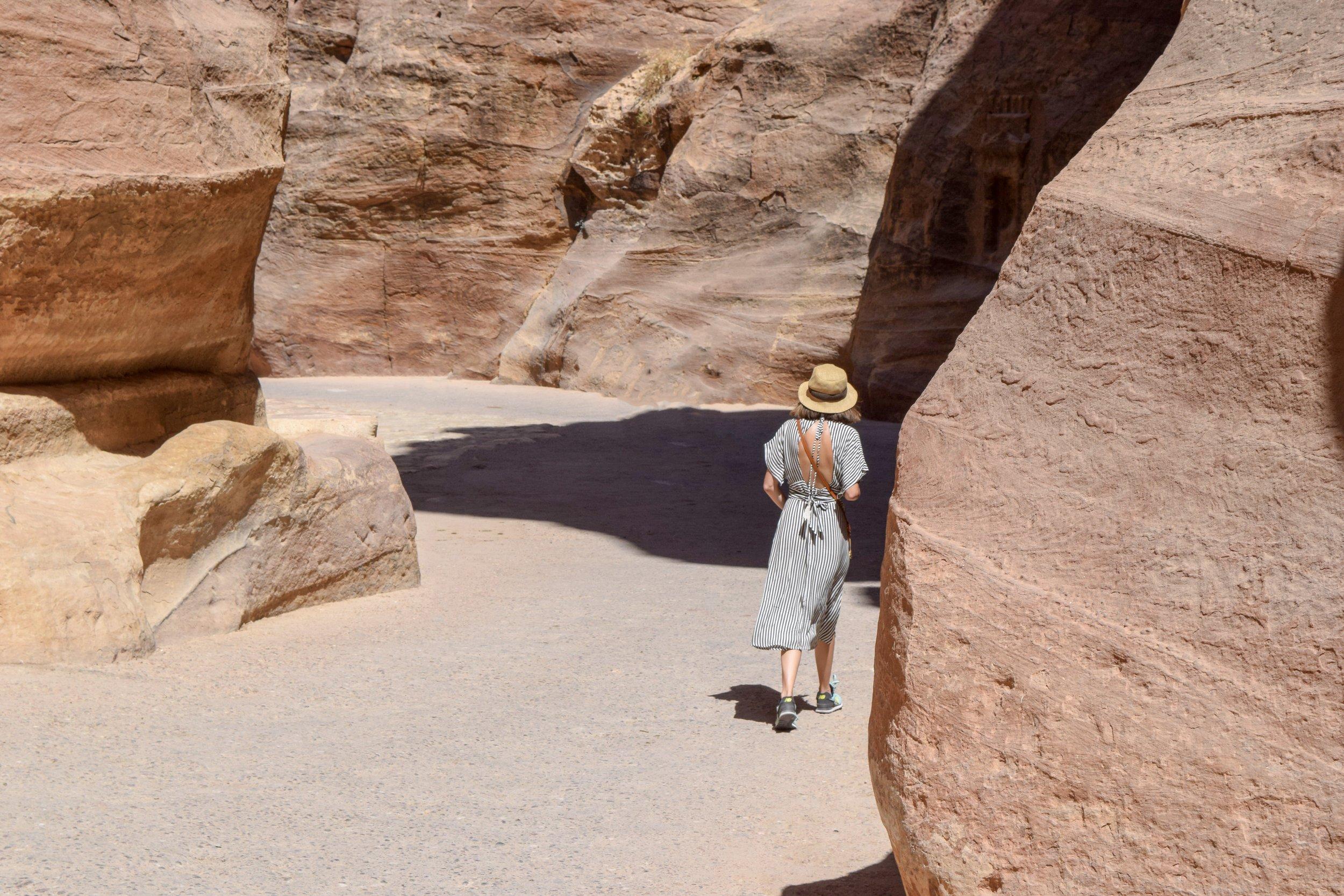 Petra Jordan Walkway
