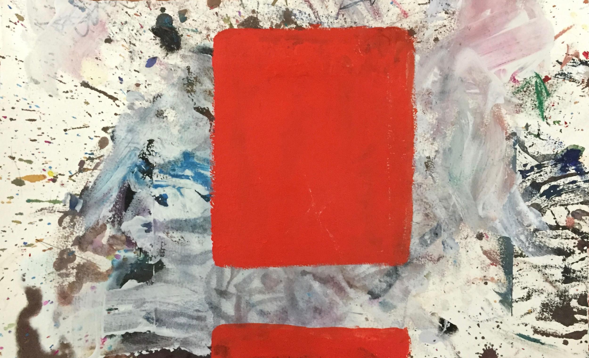 cad red blocks