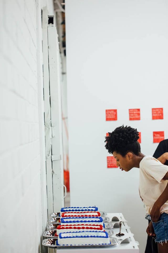 Installation at Texas Biennial 2017