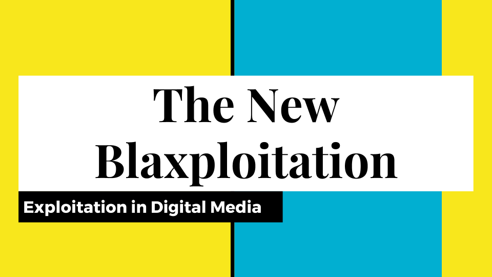 The New Blaxploitation -