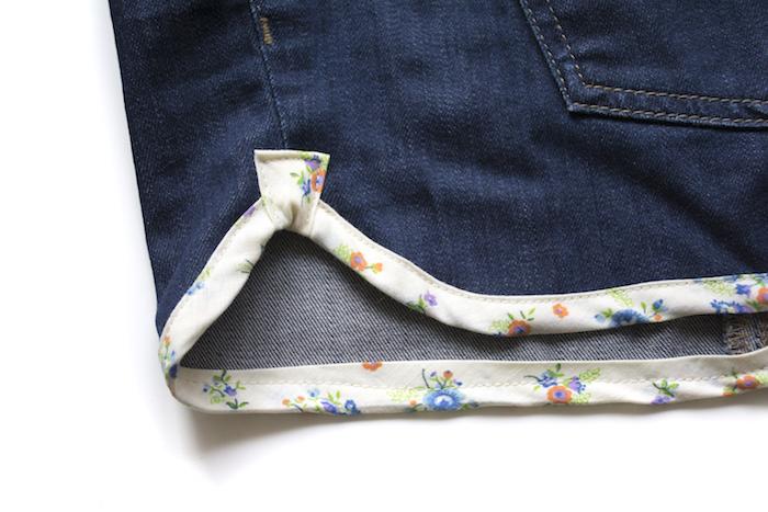 shorts binding