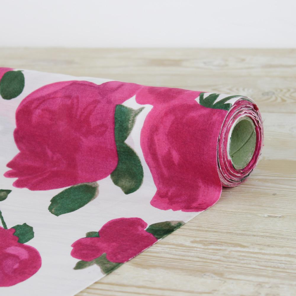 This silk cotton voile from the Fabric Store. I LOVE a silk cotton blend. You get the beauty of silk but its easier to work with and it washes and wears wonderfully!