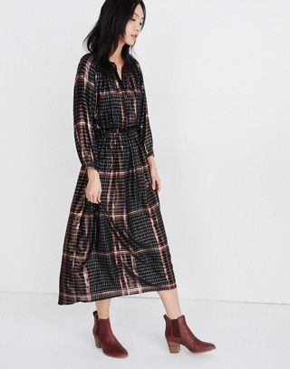 Love this ikat look dress from Madewell/Apiece Apart