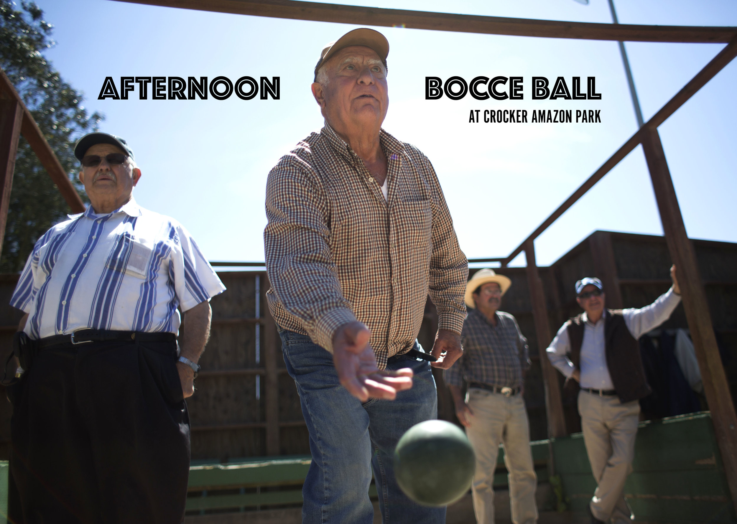 Afternoon Bocce at Crocker Amazon | Ingleside-Excelsior Light