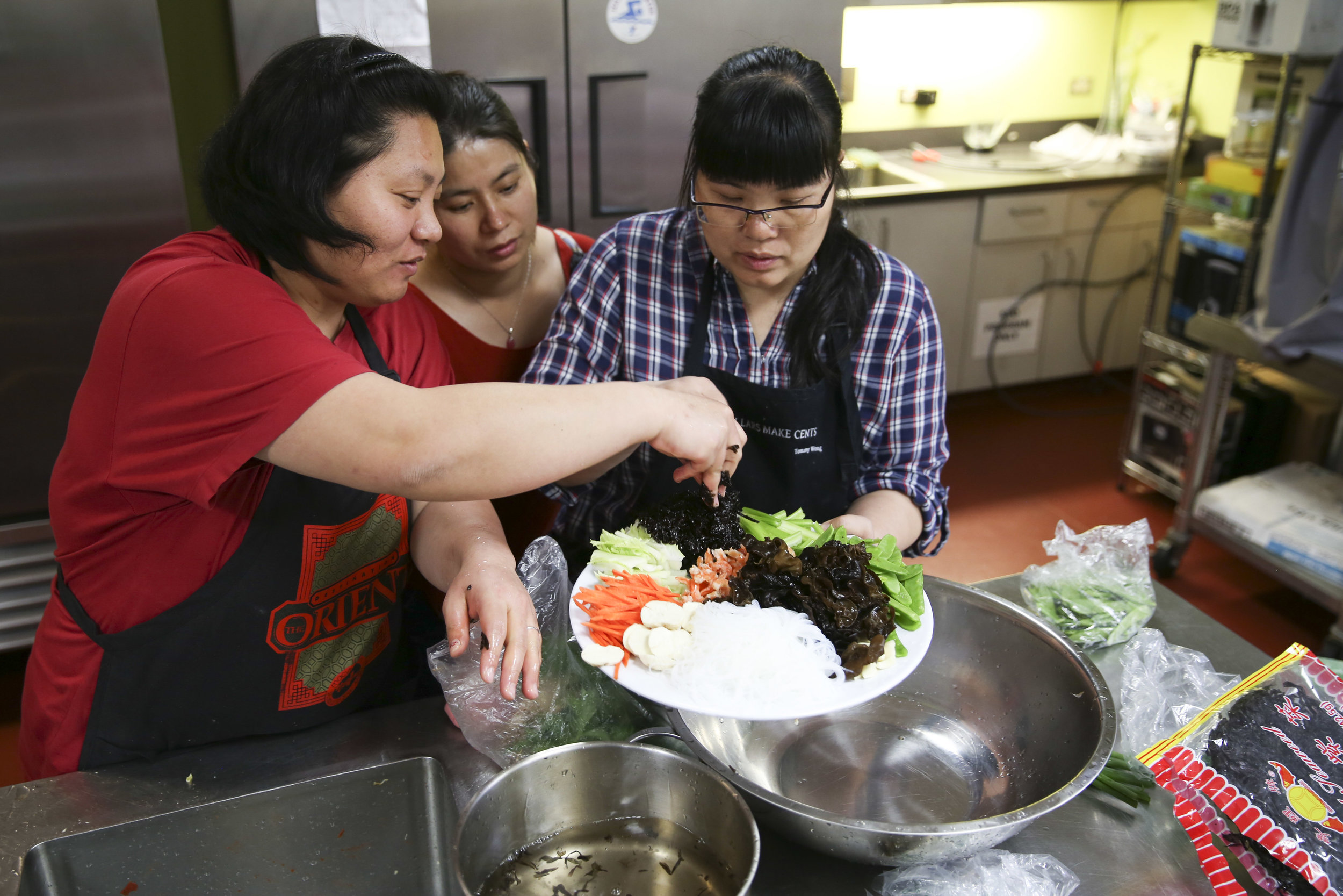 Chinatown Home Cooking - For Chinatown Community Development Center
