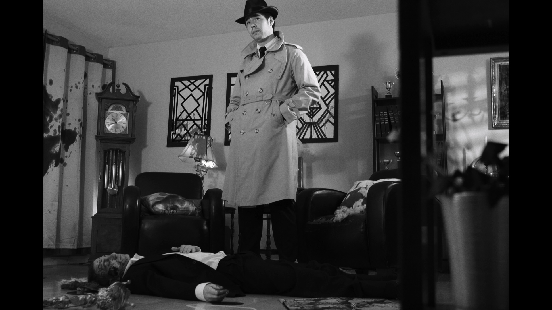 David Rajsic & Kristen McNaule - Saint Charles Place  A smooth talking detective interrogates a vicious femme fatale, but first he needs a cigarette.