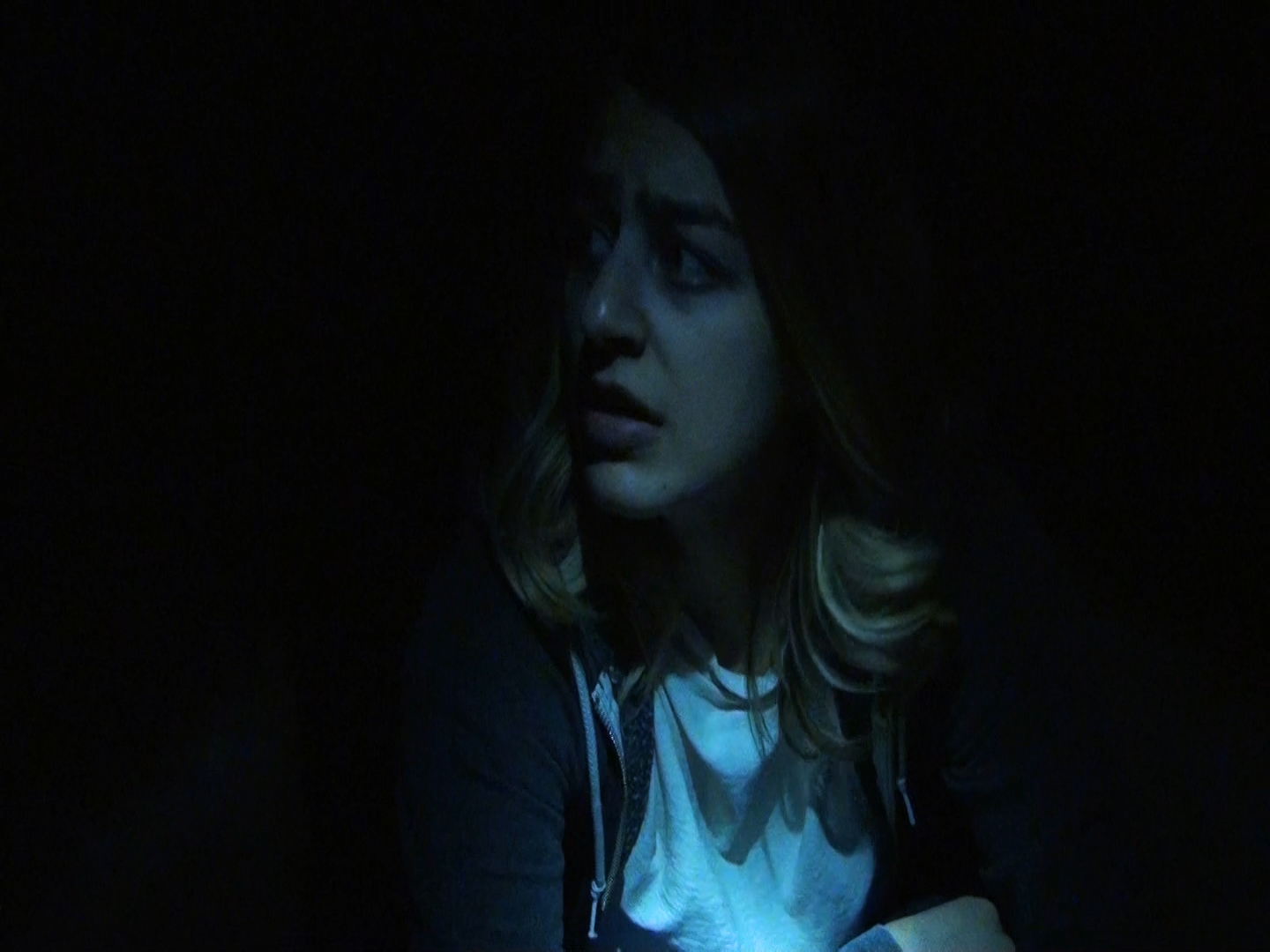 Sick Sick Sick (4:35)  Hayley Rivier-Gatt  A young woman wakes up trapped in a basement, unsure of how she got there.