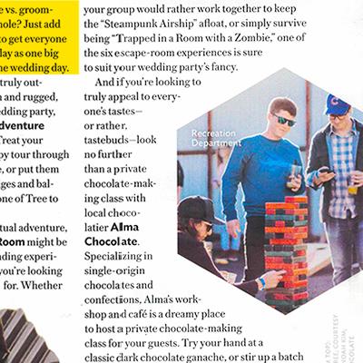 Portland Bride and Groom Magazine | January 2018