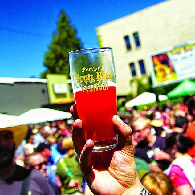 The Portland Fruit Beer Festival is here! We'll have a few games available to play while tasting over fifty different fruit beers. Starts at 11am at @burnsidebrewco. See ya there! ++++++++++++++++++++ The Portland Fruit Beer Festival is the world's largest celebration of craft fruit beers and returns to central innner eastside of Portland this June 8-10th, 2018. The lineup includes more than fifty exotic fruit beers in a wide variety of beer styles from sour ales to IPA's, lagers, stouts and everything inbetween. Brewers near and far dust off their boots and try out an eclectic diverse selection of fruits from the classics like cherries, raspberries and orange to the tropical guava and pineapple and even obscure like cacao fruit and salmon berry.  The Portland Fruit Beer Festival is all-ages with non-alcoholic beverages like fruit sodas and food options like Ice Cream, Pizza, Bratwurst and Pretzels to name a few options. The fest is audibly scored to some of the areas finest DJ's spinning records live and there is both covered and outdoor areas to the fest.  Saturday and Sunday the festival encompasses two lots and the street between them on N. 7th and Burnside. More than 30 beers and ciders will be pouring at any time with 3-4 taps of rotating rare and special tappings.  HOURS:  Saturday June 9th 11am - 9pm Sunday June 10th 11am - 6pm  @fruitbeerfest #pdx #fruitbeerfestival #fruitbeerfest #pdxbeer @lompocbrewing @levelbeer @hopworksbeer @hotlipspizza @claim52brew @montavillabrewworks @widmerbrothers @vebrewing @greatnotionpdx  @portlandbeerweek