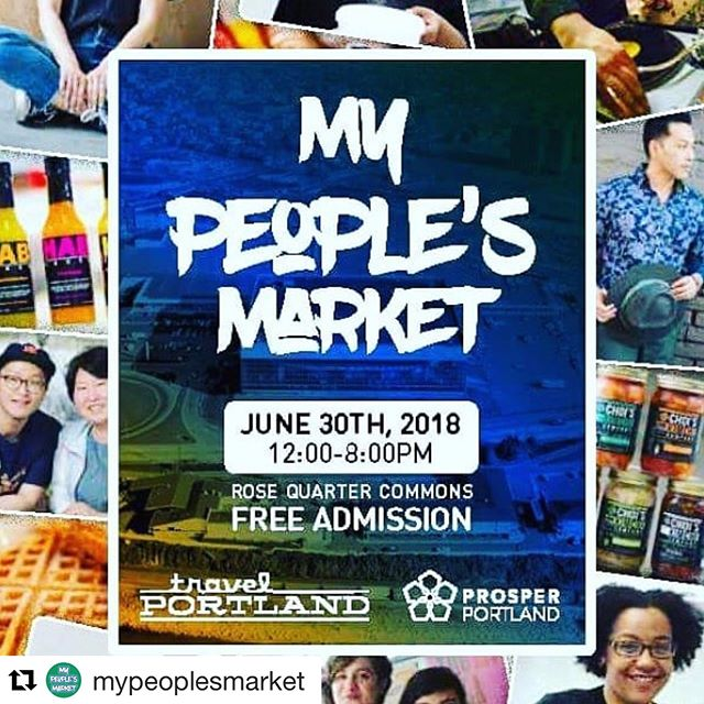 My People's Market is finally here! Join a crowd 100+ entrepreneurs of color at the Moda Common Centers! Talent, skills and an abundance of energy will be shared to the greater Portland! Invite your family, friends and neighbors to join the best summer event this year! . ..... #Repost @mypeoplesmarket with @get_repost . . . #mypeoplesmarket #portlandoregon #supportlocals #mercatuspdx #travelportland #prosperportland #supportlocals #communitiesofcolor