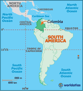 Colombia, for those who don't know