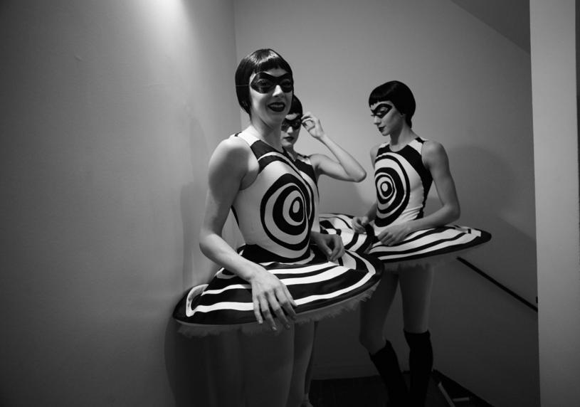 Photo By Barbara Anastacio, behind the scenes at  The Most Incredible Thing  - NYC Ballet