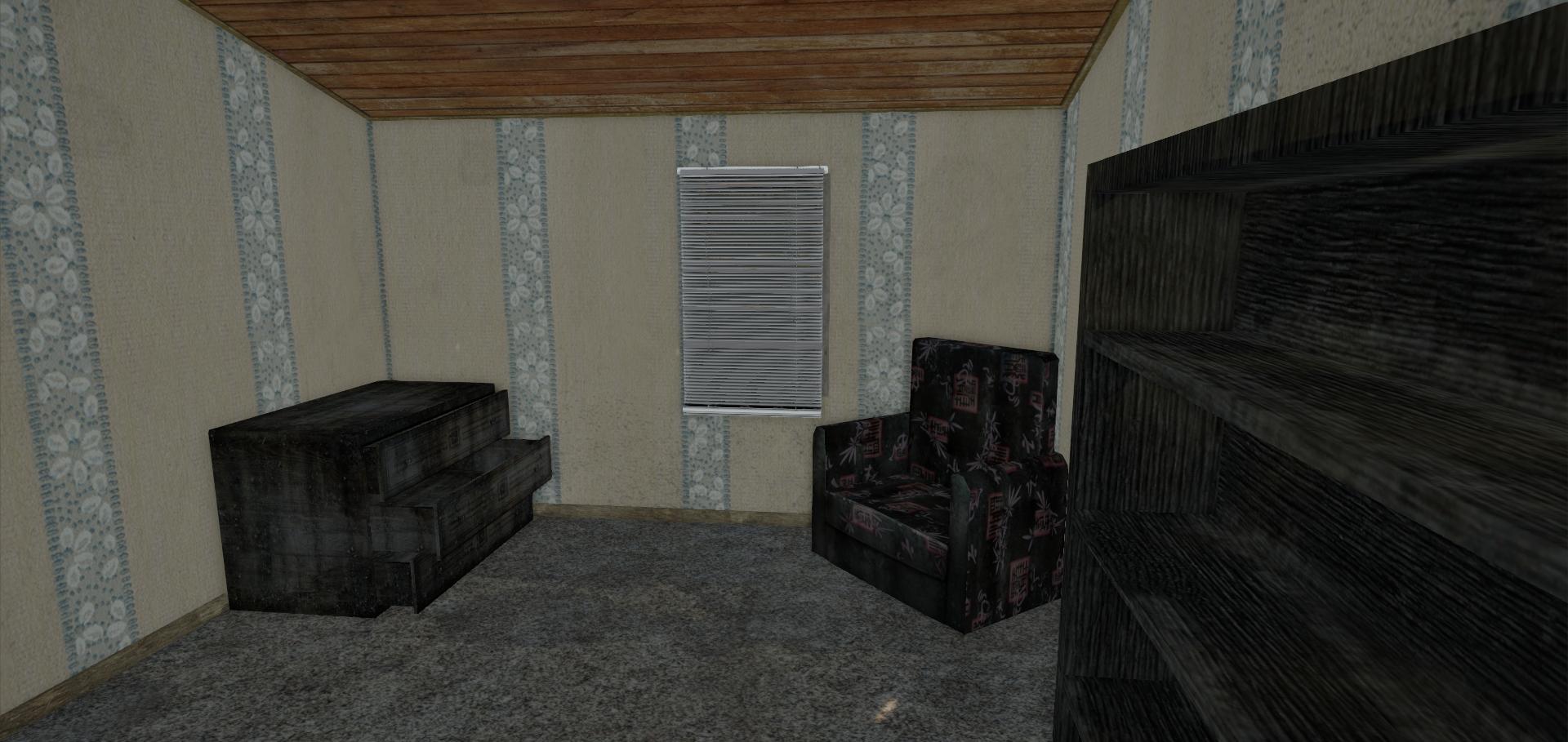 Bedroom 2, before.