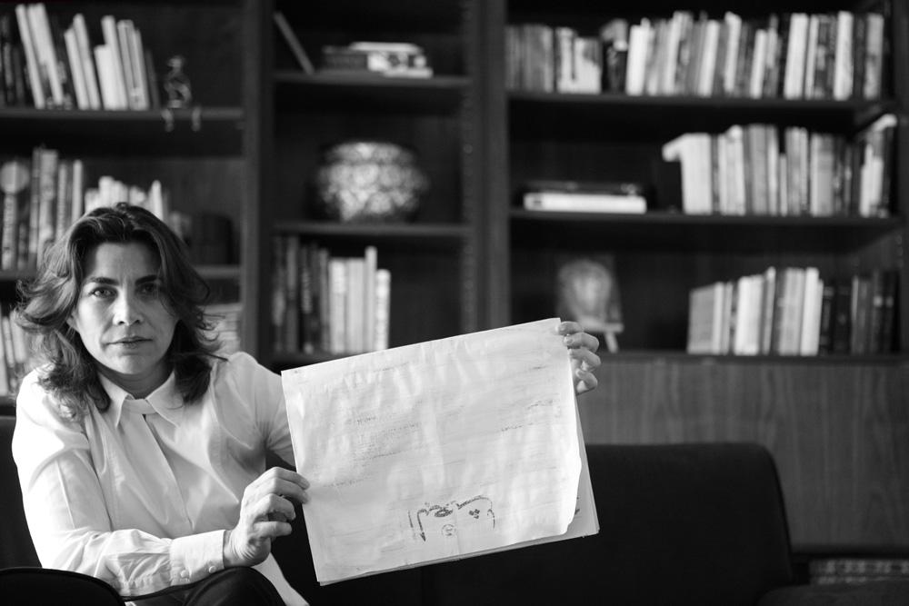 Rafia Koudmani - GalirIst,Dubai 3/4/2012  30x45cm ed of 3+1AP Printed on Cotton Rag Fine Art Archival paper