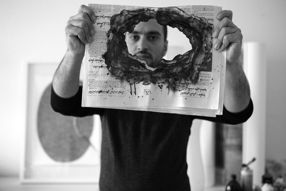 Ali Kaaf - Artist,12/8/2012 Berlin  30x45cm ed of 3+1AP Printed on Cotton Rag Fine Art Archival paper