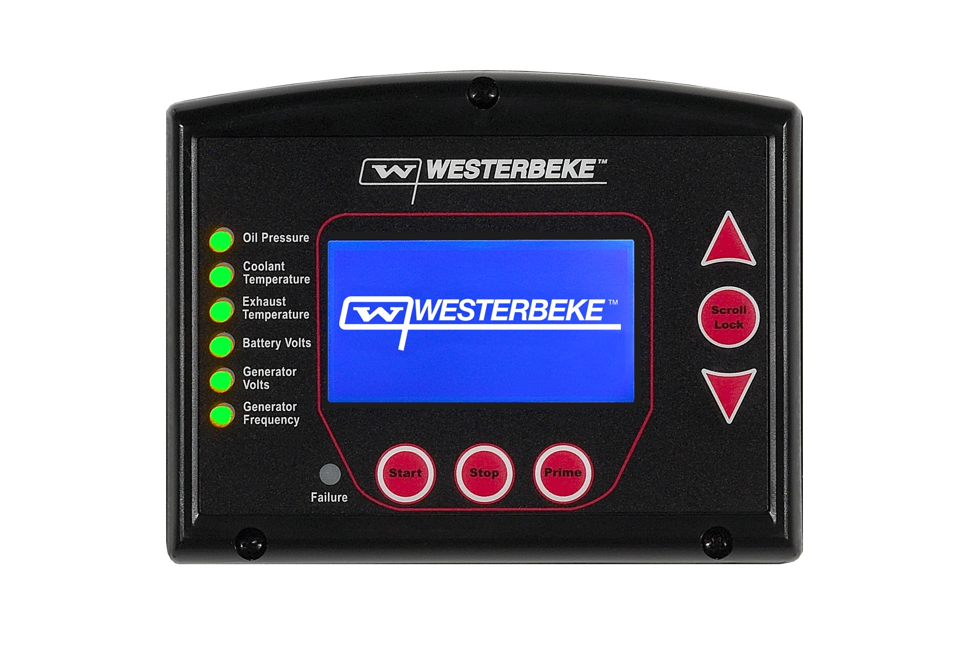 - Modern DigitalThe D-NET range of diesel marine generators is fully automatic, using state of the art Westerlink or optional NMEA 2000 canbus communication technology. The modern D-NET panel features 'at a glance' lights that indicate proper operation, monitoring battery and generator voltages, frequency, oil pressure, coolant and exhaust temperature.