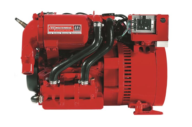 - Efficient & ReliableWesterbeke low-CO petrol generators feature multiport electronic fuel injection (EFI). This provides optimum fuel efficiency, easy starting and improved reliability. In conjunction with multiport EFI, electronic speed control via an electronic governor maintains the engine at a constant speed and eliminates 'bogging down' when load is applied.