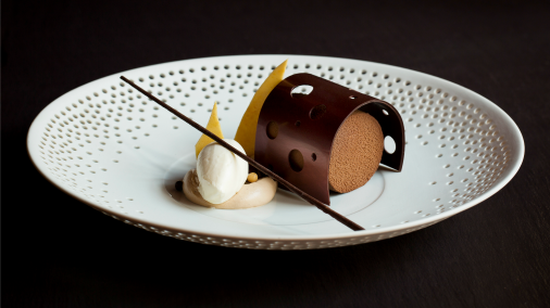 A dessert collaboration with Andy Blas - Hotel Cafe Royal, London.