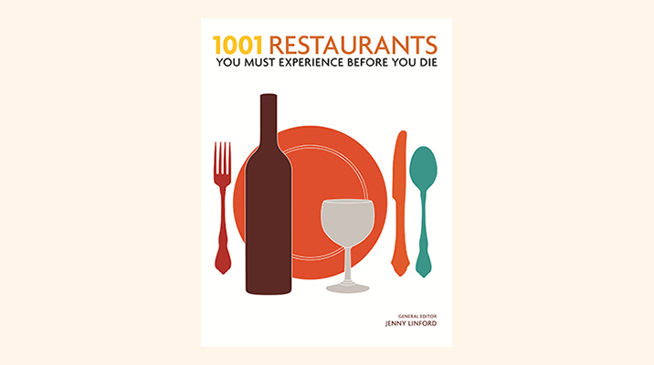 1001 restaurants to experience before you die