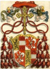 Hans Weiditz, Arms of Matthäus Lang von Wellenburg,  1520