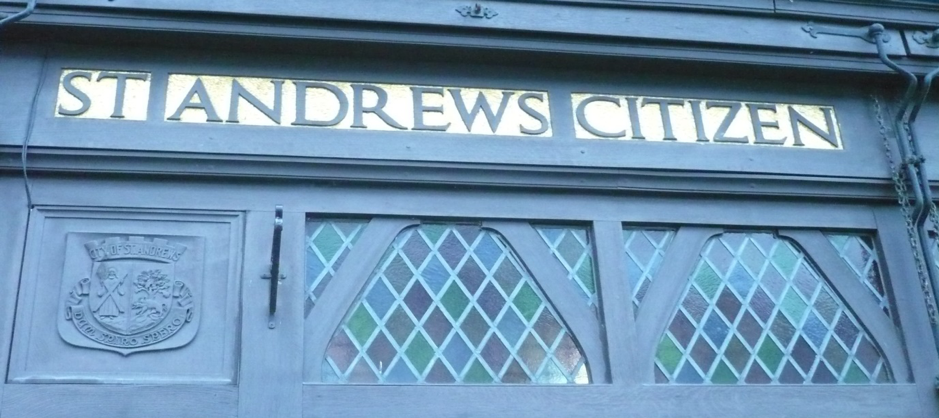 The shield of the town of St Andrews