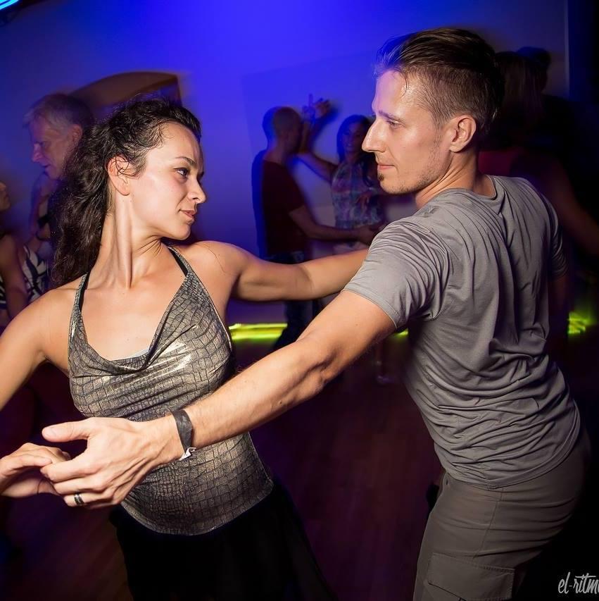 Social dancing during the Zouk All Stars week.  (c) El Ritmo Photography
