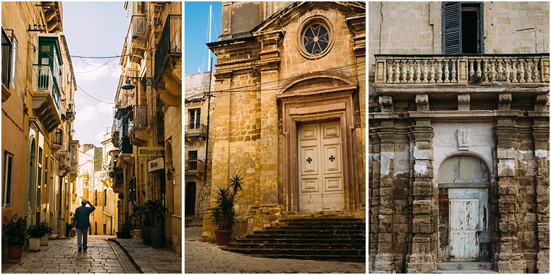 Explore the quiet alleys of Malta