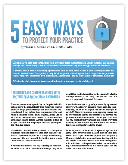 5 Easy Ways to Protect Your Practice