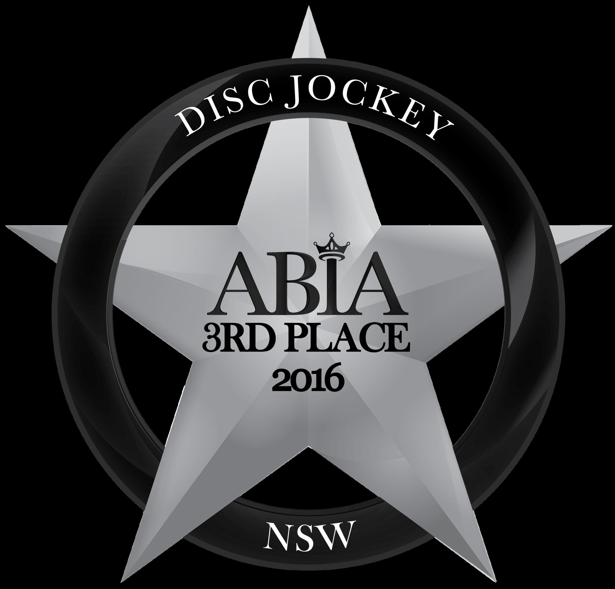 DiscJockey-ABIA-Award-2016_3RD PLACE.png